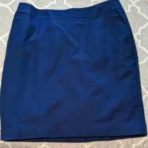 Merona blue pencil skirt size 12